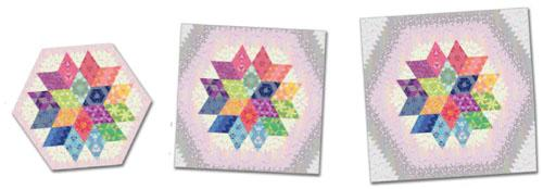 Nebula Queen Size Quilt Kit