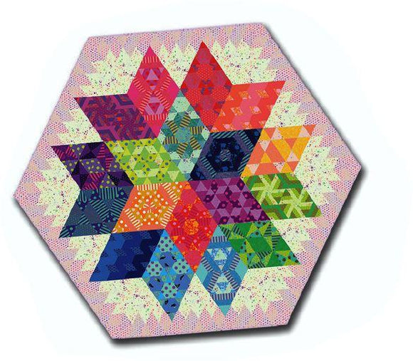 Nebula Throw Size Quilt Kit