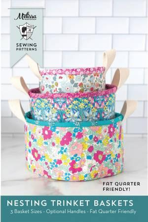 Nesting Trinket Baskets Sewing Pattern