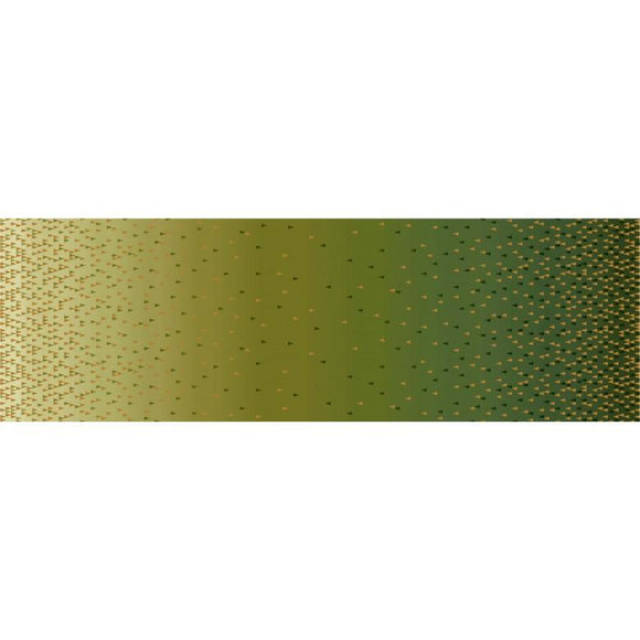 Ombre Border Olive