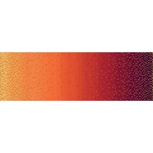 Ombre Border Orange