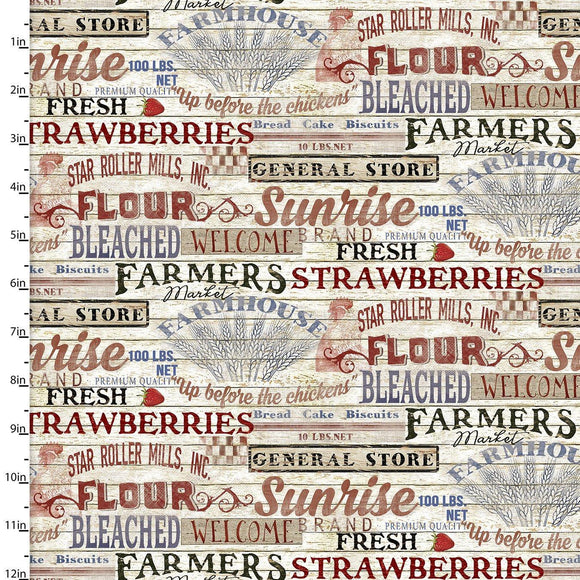 Patriotic Summer Signs Cream