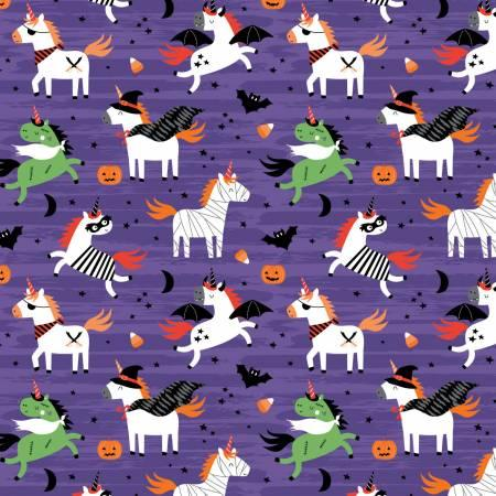 Purple Halloween Unicorns