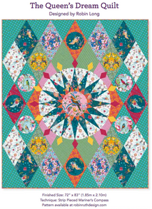 Queen's Dream Mariner's Compass Quilt Kit