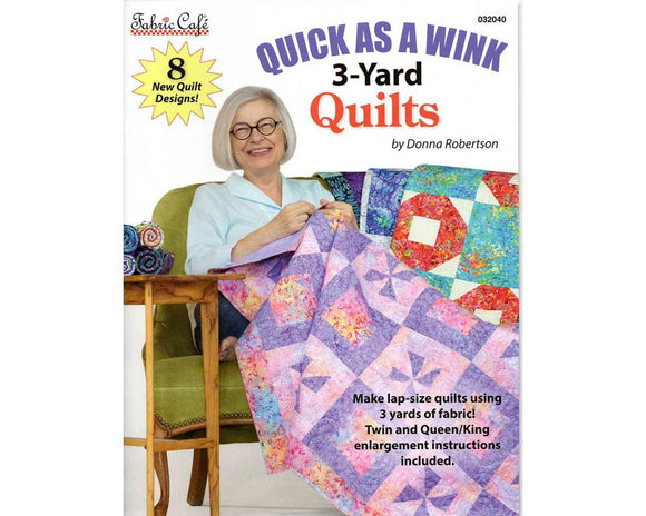 Quick as a Wink 3 Yard Quilts Book
