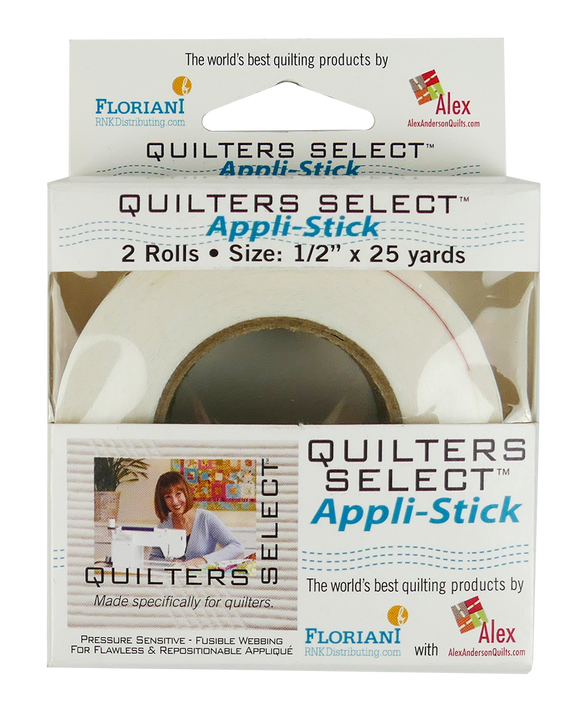 Quilters Select Appl-Stick 1/2