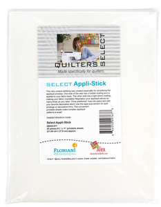Quilters Select Appl-Stick Sheets