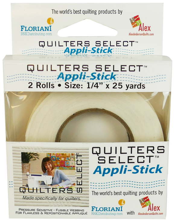 Quilters Select Appl-Stick 1/4
