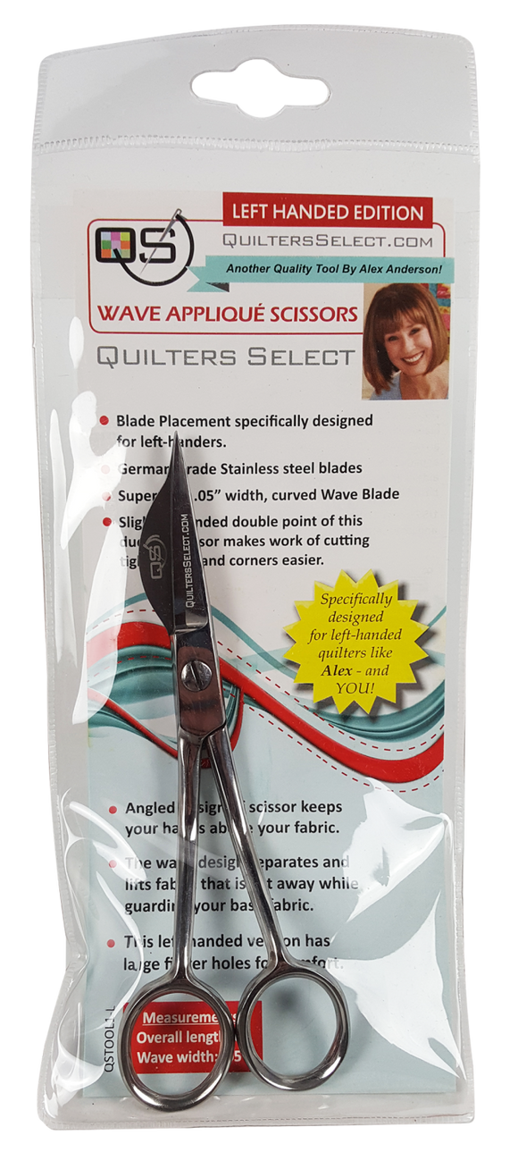 Quilters Select Applique Scissors Left Handed