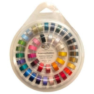 Quilters Select Bobbins Multi Color