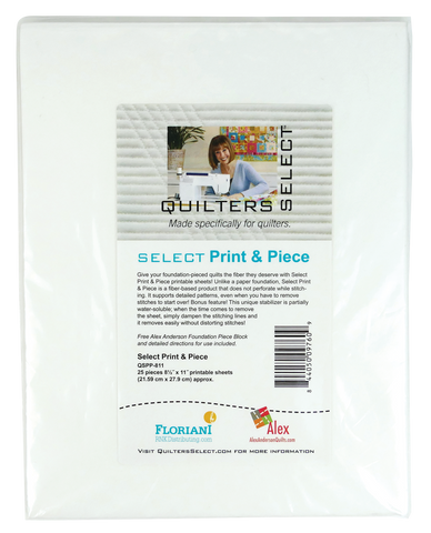Quilters Select Print & Piece