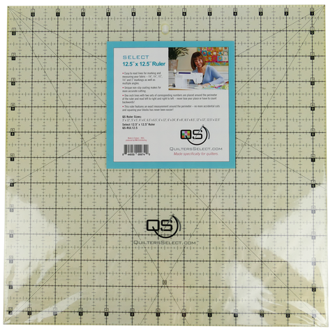 "Quilters Select Quilting Ruler 12.5"" x 12.5"""