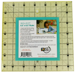 "Quilters Select Quilting Ruler 6.5"" x 6.5"""