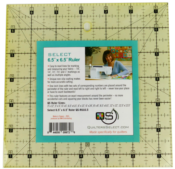 Quilters Select Quilting Ruler 6.5