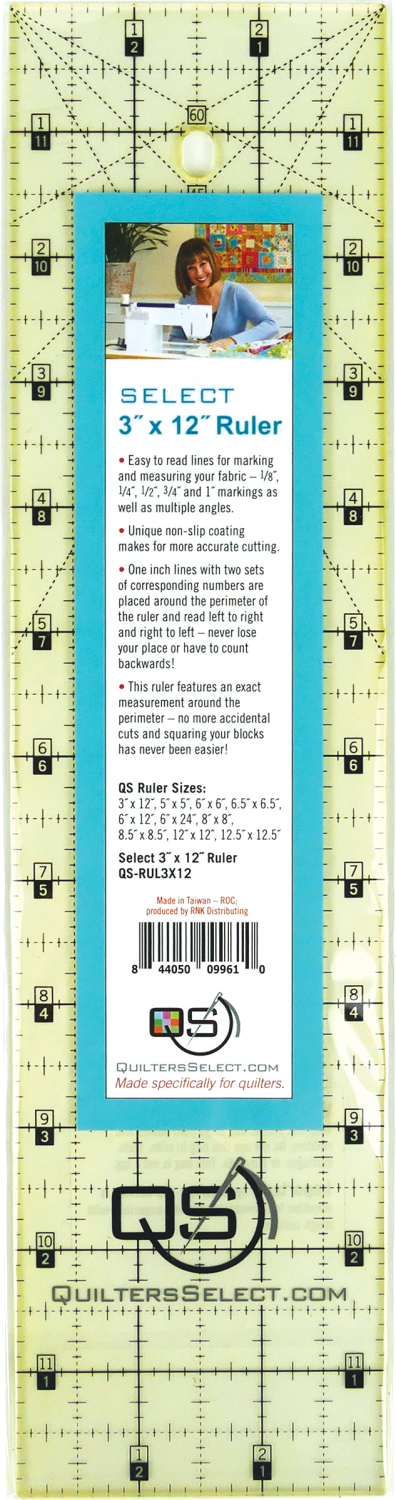 Quilters Select Quilting Ruler 6