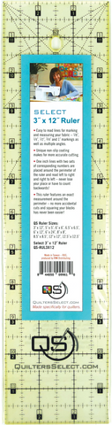 "Quilters Select Quilting Ruler 6"" x 12"""