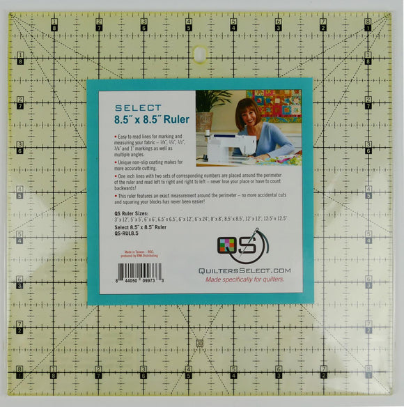 Quilters Select Quilting Ruler 8.5