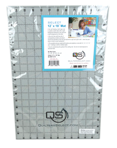 "Quilters Select Rotary Cutting Mat 12"" x 18"""