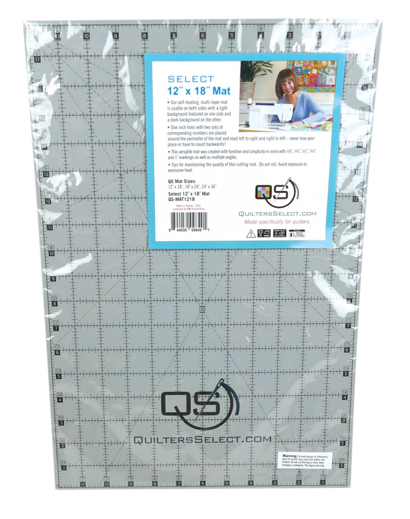 Quilters Select Rotary Cutting Mat 12