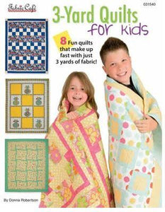 Quilts for Kids 3 Yard Quilts