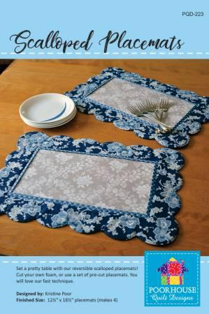 Scalloped Placemats Pattern