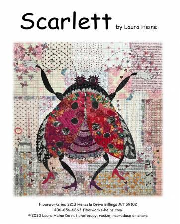 Scarlett. The Ladybug Collage Pattern