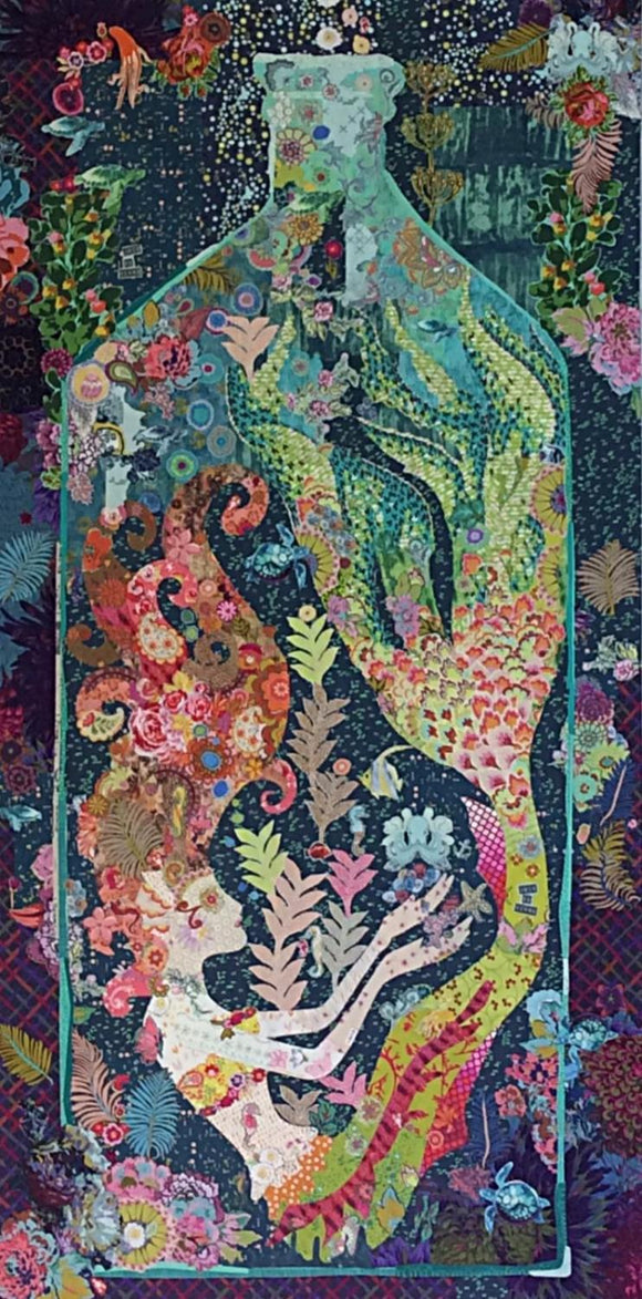 Sirene Mermaid Collage Pattern