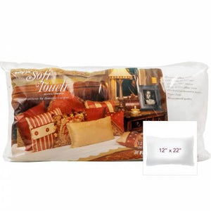 Soft Touch Pillow Form 12 x 22
