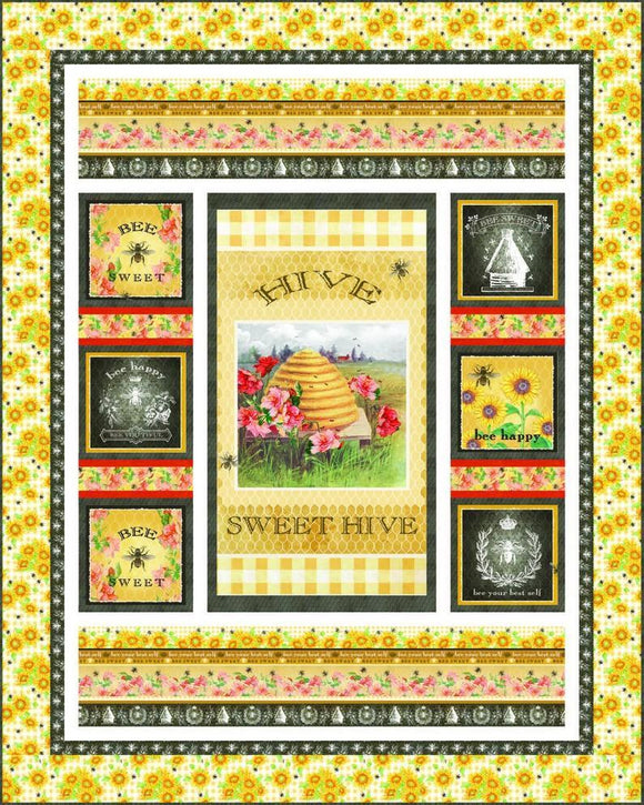 Sweet Bee Quilt Kit
