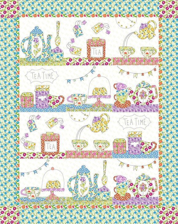 Tea Time Applique Quilt