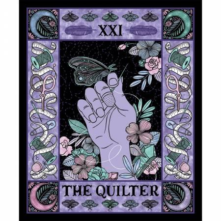 The Quilter Tarot Panel