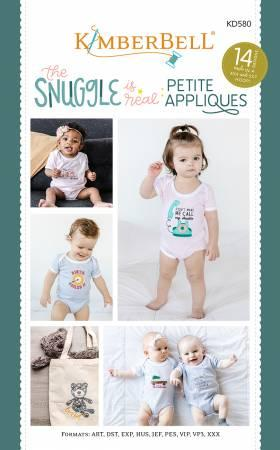 The Snuggle is Real: Petite Applique CD Pattern