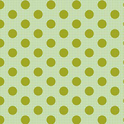 Tilda Medium Dots Green