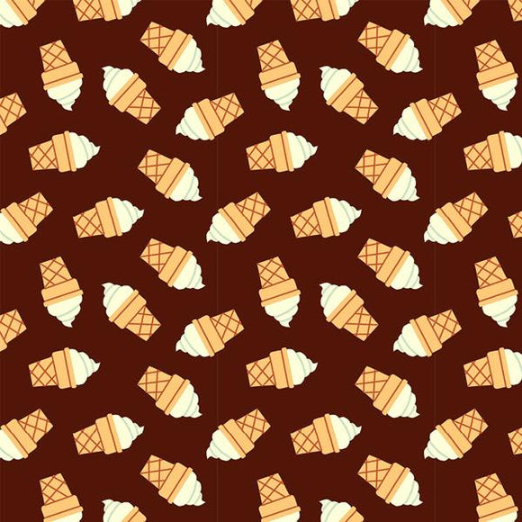 Tossed Icecream Brown