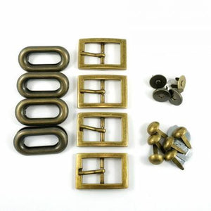 Totes Ma Tote Hardware Kit - Antique Brass
