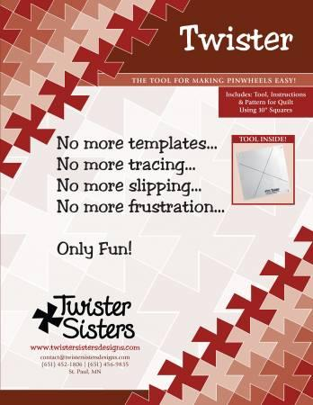 Twister Pinwheel Ruler