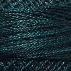 Variegated Pearl Cotton Blackened Teal H203