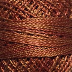 Variegated Pearl Cotton Cinnamon Swirl O506