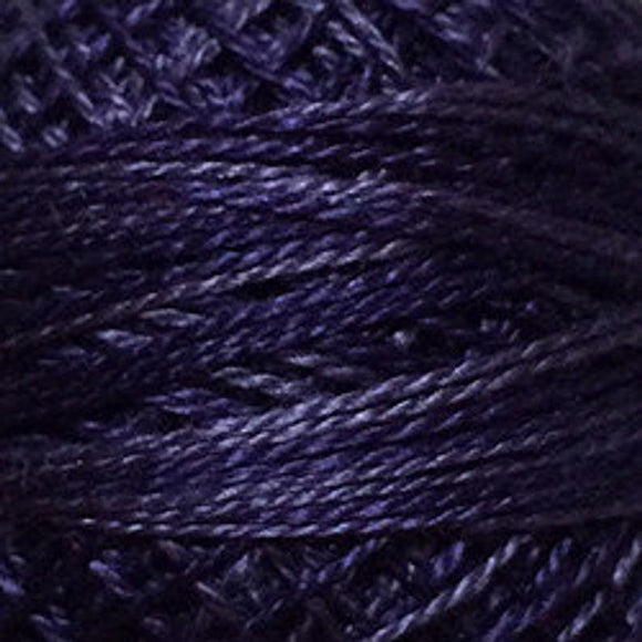 Variegated Pearl Cotton Primitive Purple O592
