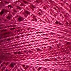 Variegated Pearl Cotton Raspberry O522