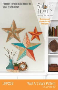 Wall Art Stars Pattern