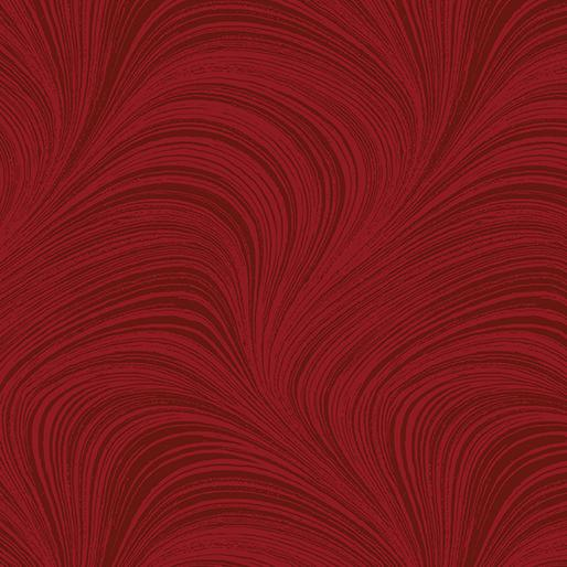 Wide Wave Texture Red