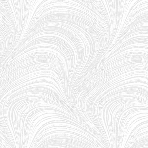 Wide Wave Texture White