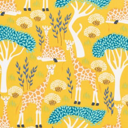 Wildlife Treasures Giraffe Yellow