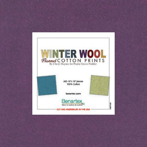 Winter Wool Flannel 10""