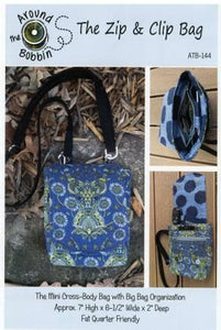 Zip & Clip Bag Pattern