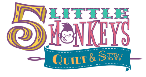 5 Little Monkeys Quilting