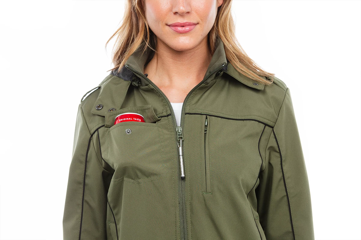 Women's Bomber 2.0 Travel Jacket with Detachable Gloves ...