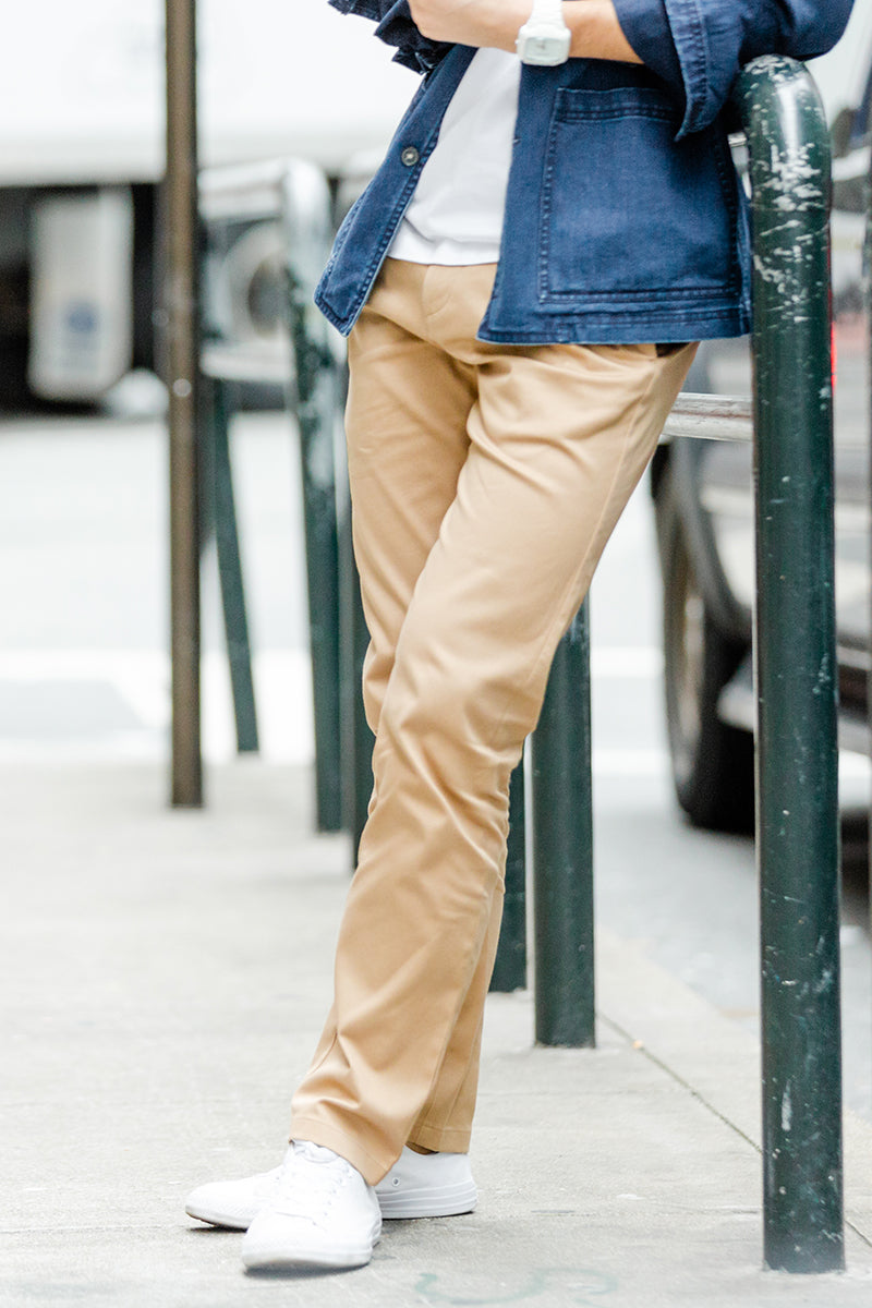Men's Slim Chinos - BauBax