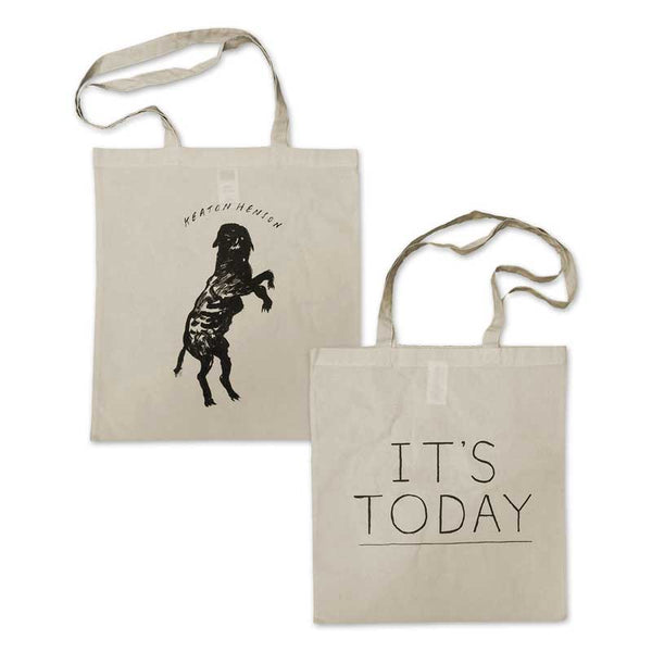ITS TODAY NATURAL TOTE BAG